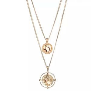 NEW!! ❤️ Multi Layer Pendant Necklace